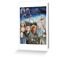 Defiance Season 3 Greeting Card