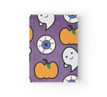 Spoopy Halloween Pattern Hardcover Journal