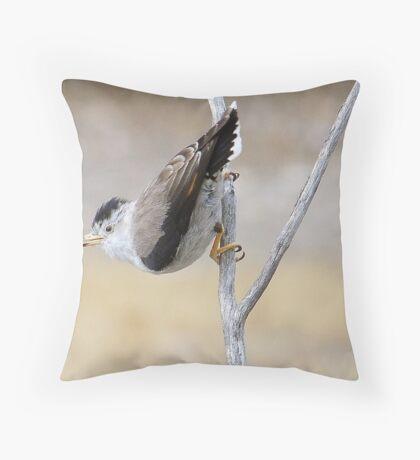Varied Sittella Throw Pillow