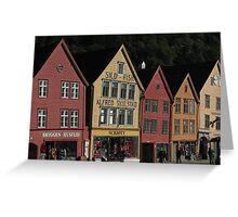 Bergen, Norway Greeting Card