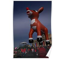 Rudolph takes off Poster
