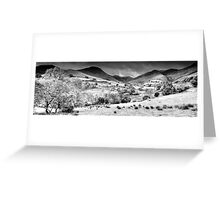 Newlands Valley (2), Cumbria, England Greeting Card