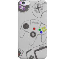 Gaming Controller Pattern iPhone Case/Skin