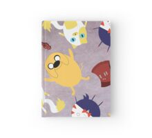 Adventure Time Pattern Hardcover Journal