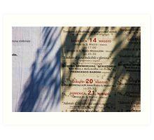 musica spiritualita Art Print