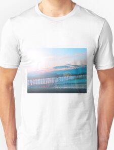Sunrise in Orange and Blue Skies T-Shirt