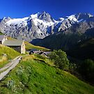 Small hamlet, Oisans, France by Willy Vendeville