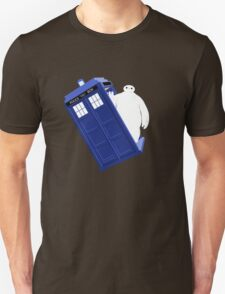 Baymax Inside Flying Tardis T-Shirt