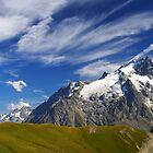 Meije peak, Oisans, France by Willy Vendeville