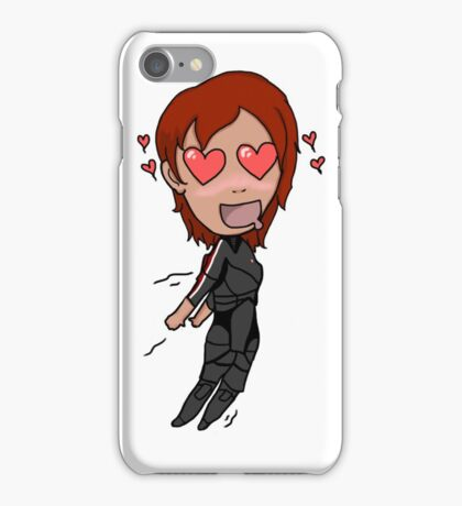 Whipped Commander Shepard iPhone Case/Skin