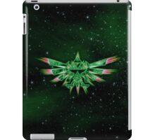 TRIFORCE GREEN SPACE iPad Case/Skin