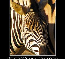 ZooTips: Never Wear a Uniform by Angie Dixon
