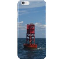 Red Buoy iPhone Case/Skin