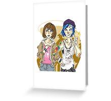 Max and Chloe Greeting Card