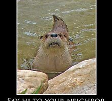 ZooTips: Say Hi to Your Neighbor by Angie Dixon