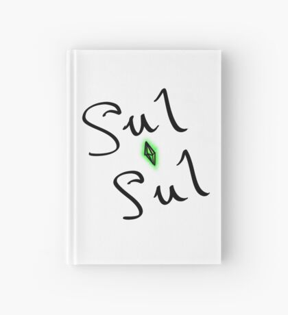 sul sul - the sims say hello [with plumbob] Hardcover Journal