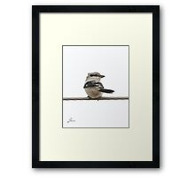 Small But Aggressive Framed Print