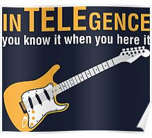 Intelegence You Know It When You Hear It Poster