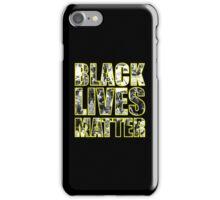 #BLACKLIVESMATTER PROTEST SHIRT iPhone Case/Skin