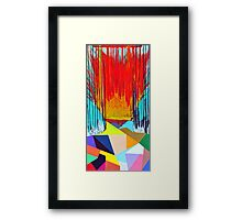 Different But Human Framed Print