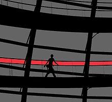 Red Stripe by John Dalkin