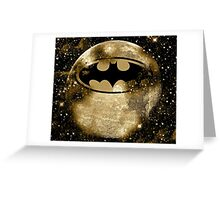 Same Bat Time Same Bat Channel Greeting Card
