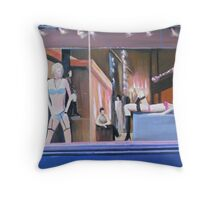 Mannequins on Broadway, New York, NY Throw Pillow