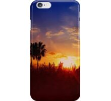 UFO SUNSET #4 iPhone Case/Skin