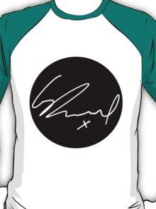 George Daniel Signature - The 1975 White  T-Shirt