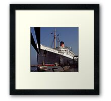 RMS Queen Mary Framed Print