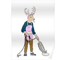 I'm Doing The Housework, Deer. Poster