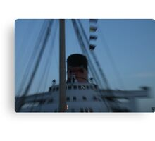 Queen Mary Time Warp Canvas Print