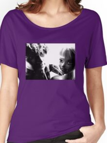 Ophelia and Mr Hip, On the Town Tee Women's Relaxed Fit T-Shirt