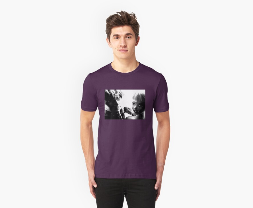 Ophelia and Mr Hip, On the Town Tee by Margaret Bryant