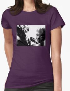 Ophelia and Mr Hip, On the Town Tee Womens Fitted T-Shirt