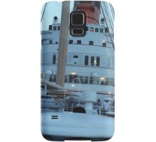 Queen Mary Superstructure  Samsung Galaxy Case/Skin