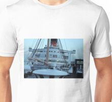 Queen Mary Superstructure  Unisex T-Shirt