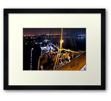 Queen Mary Night Bow Framed Print
