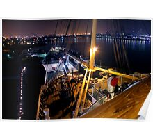 Queen Mary Night Bow Poster