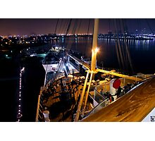 Queen Mary Night Bow Photographic Print