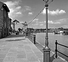 The Promenade, Barton Marina by Rod Johnson