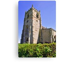 St Andrew's Church, Cubley, Derbyshire Canvas Print