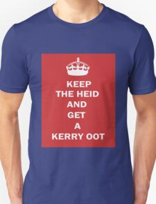 Glaswegian Keep Calm and Carry On T-Shirt T-Shirt