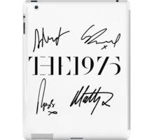 The 1975 + Signatures  iPad Case/Skin