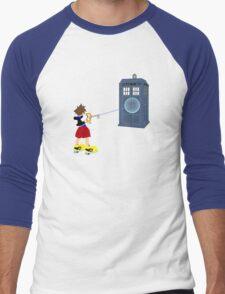 Sealing the TARDIS Men's Baseball ¾ T-Shirt