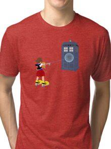 Sealing the TARDIS Tri-blend T-Shirt