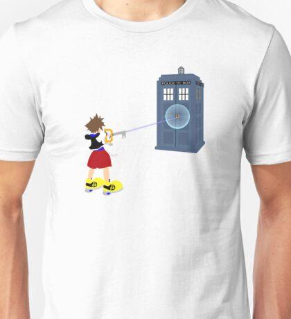 Sealing the TARDIS Unisex T-Shirt
