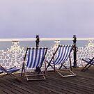 Brighton Beach Chairs by Sue Ratcliffe