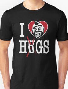 I LOVE HOGS COC Unisex T-Shirt