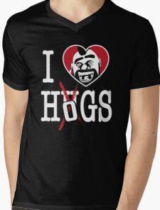 I LOVE HOGS COC Mens V-Neck T-Shirt